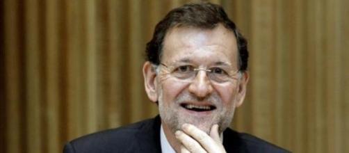 Mariano Rajoy con su buen humor habitual