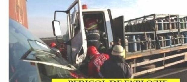 Accident auto foarte grav