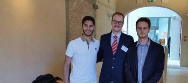 Antonio Argenziano, Giulio Saputo e Simone Fissolo