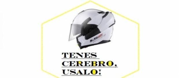 Concienticemos el uso del casco.