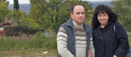 Omar Gaitán y su esposa Carmen