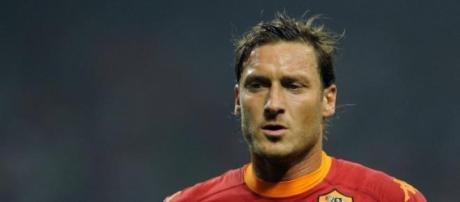 Totti, l'icône de l'AS Rome.