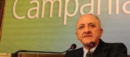 De Luca, candidato alle regionali in Campania