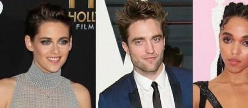 Kristen Stewart, Robert Pattinson et FKA Twigs.