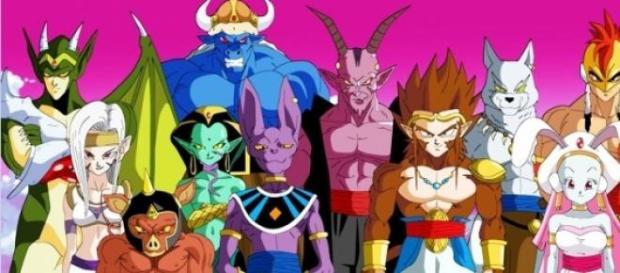 Fan-art de los doce Dioses
