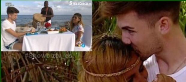 Isabel Pantoja y Alejandro juntos en la isla