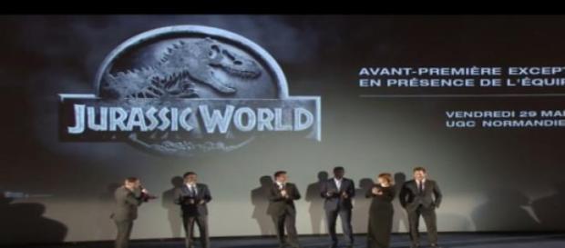L'avant-première de Jurassic World à Paris
