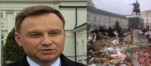Prezydent Andrzej Duda chce pomnika smoleńskiego