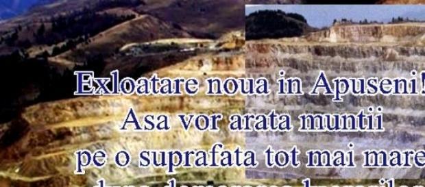 Rovina, Munţii Apuseni, aproape de Roşia Montană