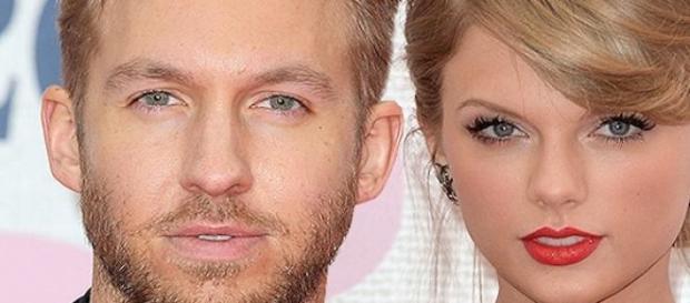 Taylor Swift et Calvin Harris.