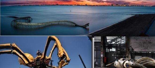 El Dragón Oceánico y otras obras artísticas