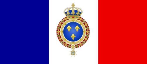 Drapeau Français - armoiries de France - CC BY