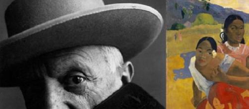 Pablo Picasso tem três menções neste 'ranking'.