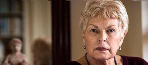 A escritora inglesa Ruth Rendell