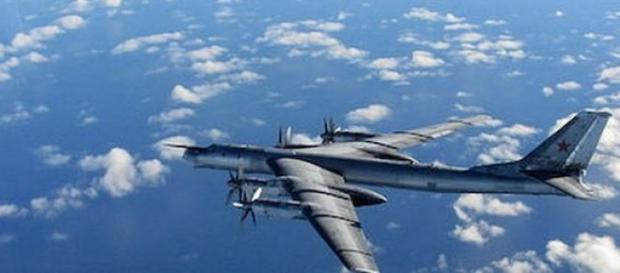 Avioane rusesti in apropierea SUA