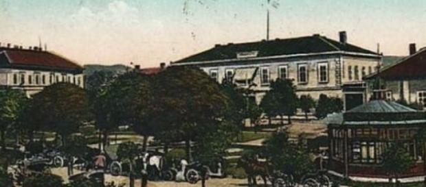 Orșova veche: parcul central