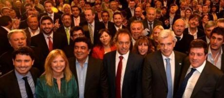 ¿Scioli-Kirchner 2015? (foto: web Daniel Scioli)