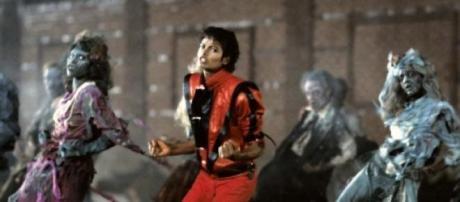 Un momento del baile de 'Thriller'
