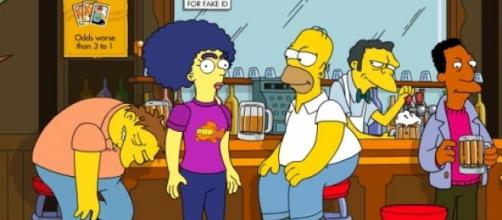 La serie de Groening se adelanta a la realidad