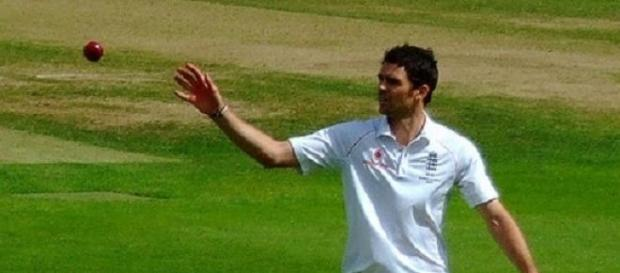 Anderson took his 400th Test wicket for England