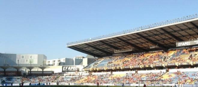 <p>Estádio Cidade de Coimbra antesda final da Taça da Liga entreSport Lisboa e Benfica - Marítimo</p>
