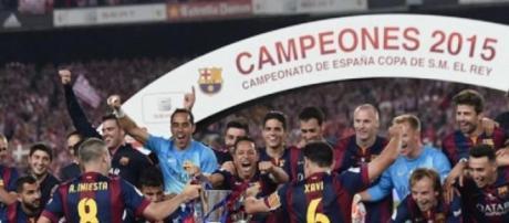Fútbol Club Barcelona, vencedor de la Copa del Rey