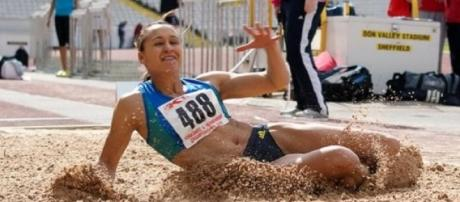 Jessica Ennis-Hill finished 4th in Gotzis