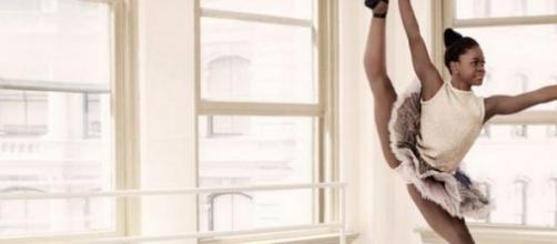 La ballerina Michaela DePrince