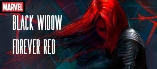 "La novela ""Black Widow Forever Red"""