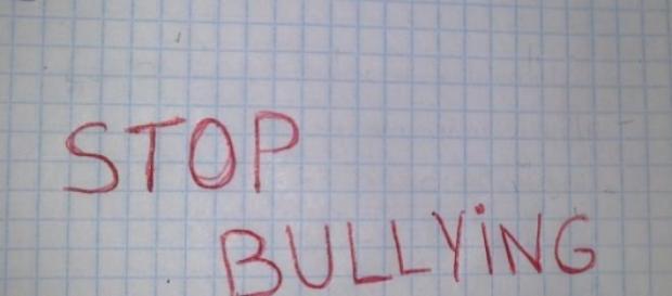 "nota libreta ""stop bullying"""