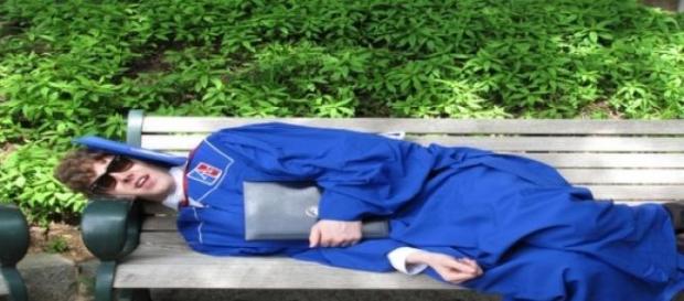 Unemployed graduate © Matthew Hurst