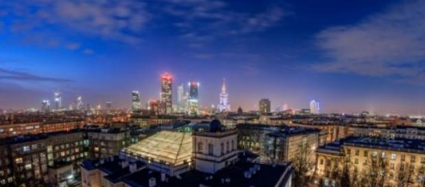 Wieżowce w Warszawie podczas Nocy Wieżowców