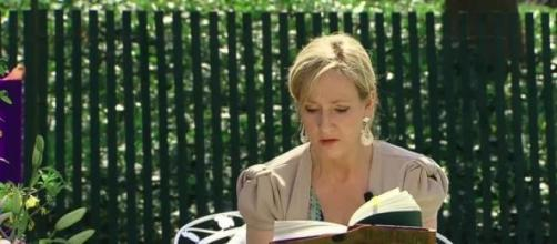 JK Rowling- the author of Harry Potter novel