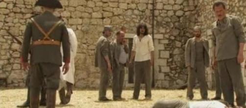 Olmo Mesia viene ucciso in carcere (foto Antena 3)