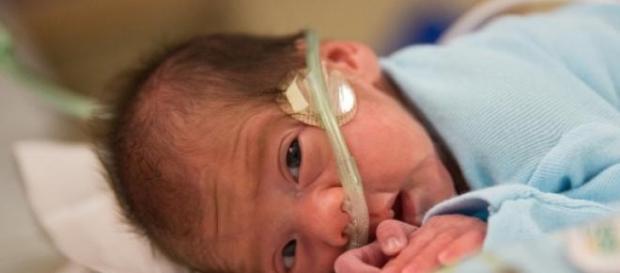 Angel é o nome do bebé recém-nascido