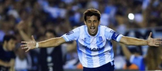 Milito es una pieza fundamental para Racing