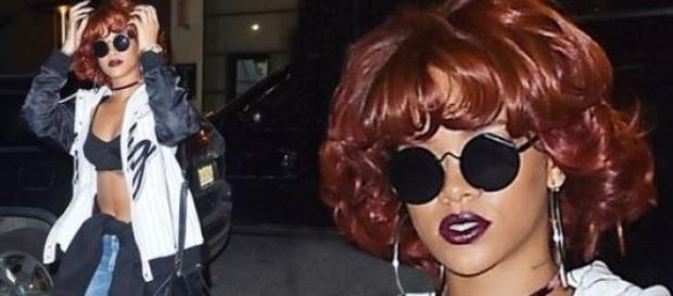 Rihanna arrasa com novo 'look'