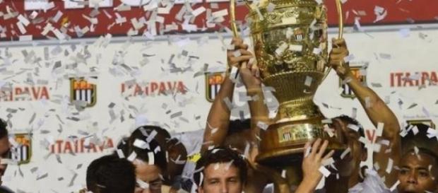 Santos festejou 21º titulo do Paulistão