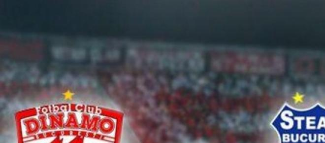 Derby-ul Dinamo Steaua, victorie pentru Steaua