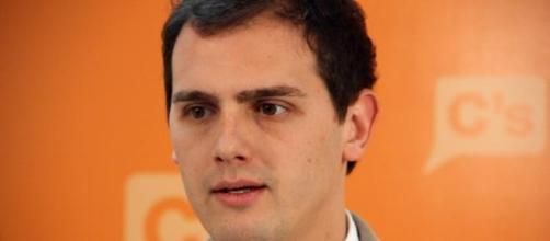 """Albert Rivera, presidente de """"Ciudadanos""""."""