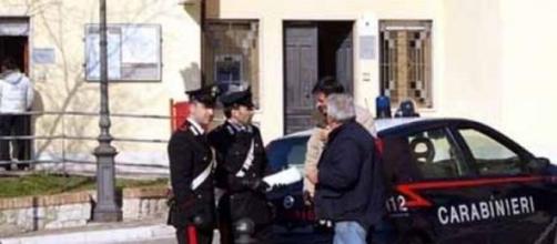 I carabinieri  sono intervenuti sul posto
