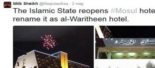 Inaugurazione dell'hotel 5 stelle dell'Isis