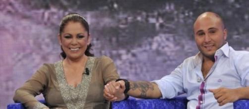 Isabel Pantoja con su hijo Kiko Rivera.