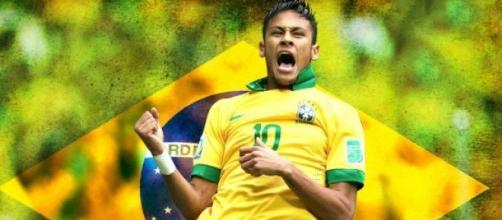 Neymar, la estrella de la lista de Brasil