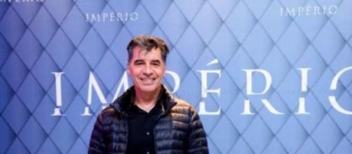 Paulo Betti, o Téo da novela Império agredido