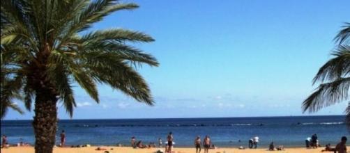 Playa Tinerfeña en imagen de archivo
