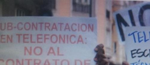 Reciente huelga de instaladores en Madrid