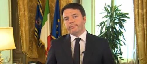 Scuola, la protesta contro il Premier Renzi.
