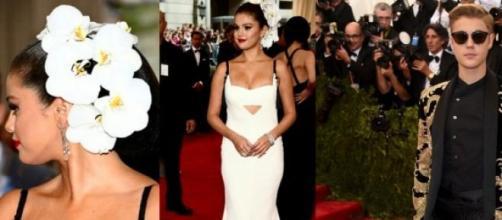 Selena Gomez e Justin Bieber na 'Met Gala' 2015
