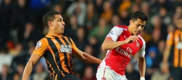 Alexis Sanchez scored 20th goal in the season